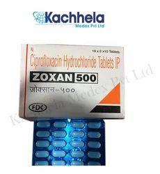 Ciprofloxacin (Zoxan 500mg) Tablet
