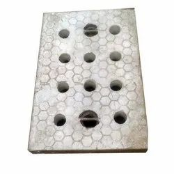 Gray Full Floor (Rectangular) Rectangular Cement Drainage Cover