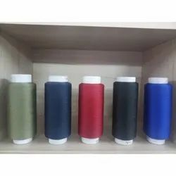 Ring Spun Polyester 111/2 High Bulk Dyed Yarn for Textile Industry