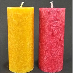 Crystal Pillar Candles