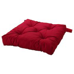 Red Microfibre Banquet Chair Pads