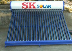 Solar Water Heater for Village