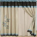 Silk Printed Designer Curtains For Window & Door