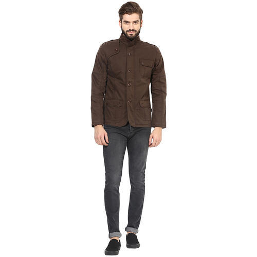 Yuvi Brown Cotton Jacket at Rs 700 /piece | Sector 40 | Gurgaon ...