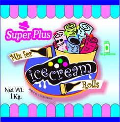 1 kg Premix for Ice Cream Rolls, Packaging: Pouch