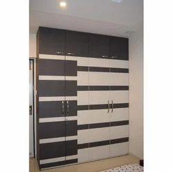 4 Door Wooden Designer Bedroom Wardrobe