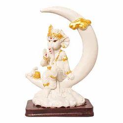 Marble Look Lord Baby Ganesha Idol