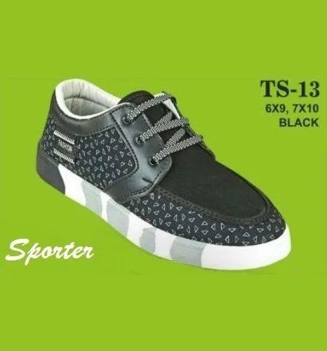 Sporter Men TS-13 Black Casual Canvas