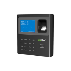 3000 Password Protected BIOMAX V-TA45 Time & Attendance
