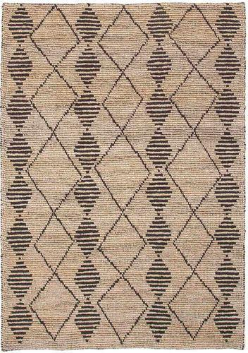 Semi Bleach Hand Woven Jute Loop Rugs & Carpets