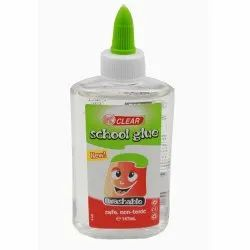 Adhesive - Washable Clear School Glue 147ml Set of 30, Packaging Type: Plastic Bottle