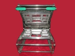 8 Portion Meal Tray Sealing Machine