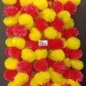 Mix Color Artificial Jhandu Gainda Flower Ladi
