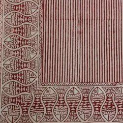 Cotton Block Printed Fabric, Gsm: 200-250