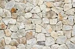 Beige Natural Wall Stone, Thickness: 20 mm