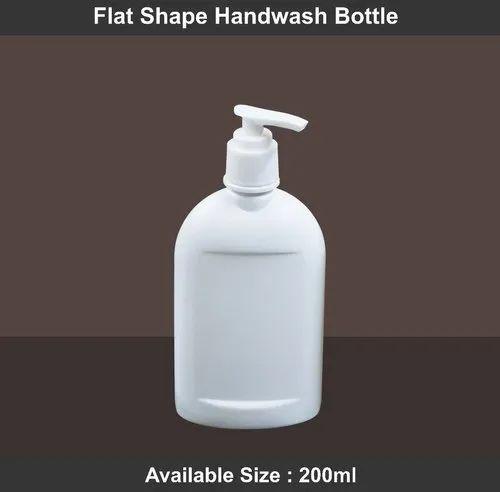Flat / Oval Shape Hand-wash Bottle