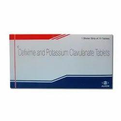 Cefixime And Potassium Clavulanate Tablets