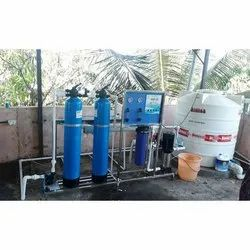 FRP 1000 LPH RO Water Purifier Plant, Capacity: 1000 Ltr/Hour