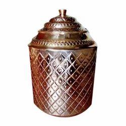 Nakashi Copper Water Pot
