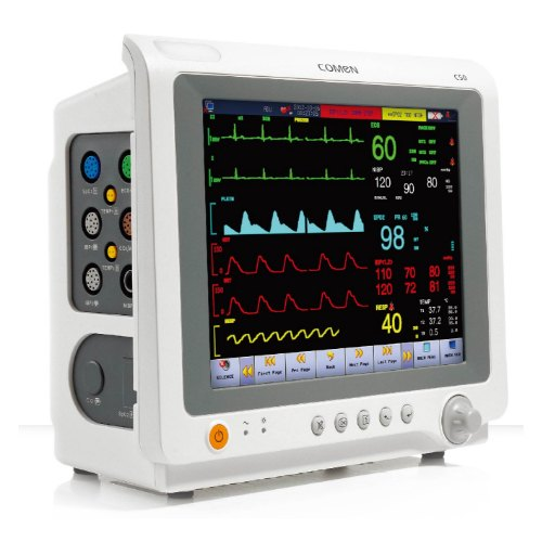 20-254bpm ECG Medical C50 Moniteur Patient Multi Paramètre,    ID: 21905591597