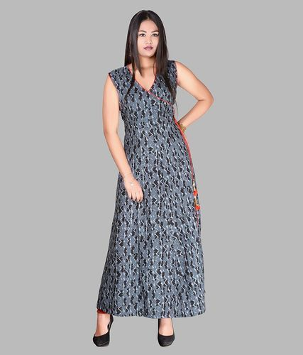 1708f13acab8 Casual Wear Sleeveless Cotton Maxi Long Dress