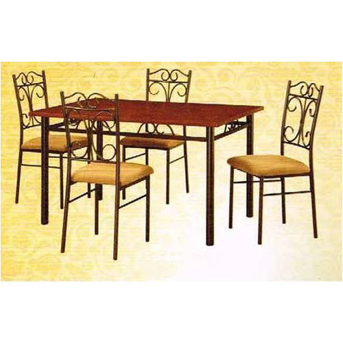 Metal Dining Table Set  sc 1 st  IndiaMART & Metal Dining Table Set at Rs 8500 /set | Dining Table Set | ID ...