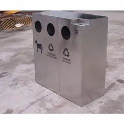 4 in 1 Stainless Steel Dustbin