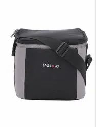 BagsRUs 6 Liter 6 Can Insulated Portable Travel Chiller Cooler Bag With Free Ice Pack