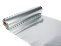 Silver LLDPE (Linear Low-Density Polyethylene) Kitchen Food Packaging Roll