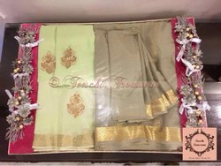Silk Wedding Trousseau Packing