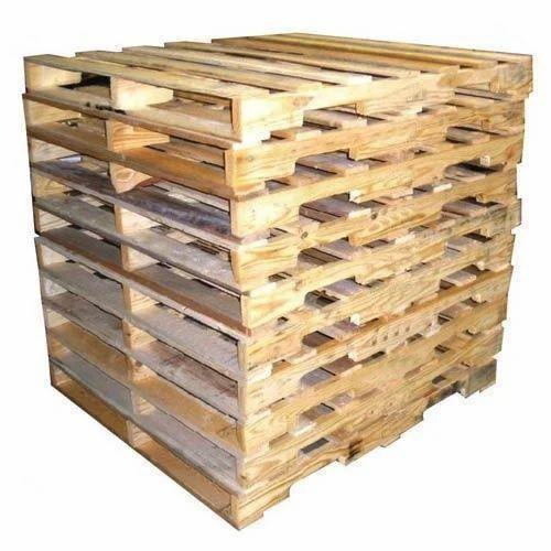 Brown Heat Treated Wooden Pallet, Rs 400 /piece, Hindustan ...