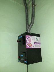 Automatic Electrical Incinerator- 25 Pads/Day Without Temp. Controller