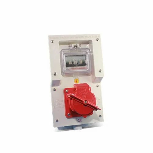 2 in 1 MCB With Electrical Receptacle