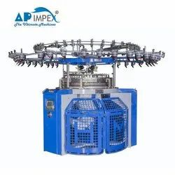 High Speed Transfer Rib Jacquard Circular Knitting Machine