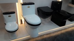 Curo Open Front Western Toilet, For Bathroom Fitting, Size/Dimension: 685*360*725