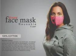 Designer 3 Layer Face Mask