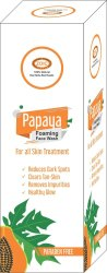 Papaya Foaming Face Wash, Packaging Size: 100 Ml, Gel