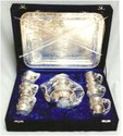 Rawsome Shack German Silver Tea Set Wedding Gift