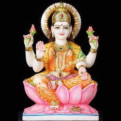 3 Feet Marble Laxmi Statue