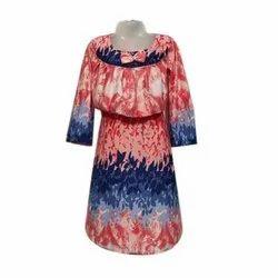 Loose Fit Ankle Length Girls Designer Gown