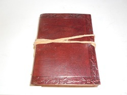Vintage Wrap Handmade Leather Journal