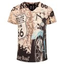 Cotton Mens Printed T Shirt