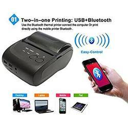 GOOJPRT PT - 210 58MM Bluetooth Thermal Printer Portable Wireless Receipt Machine for Windows Androi