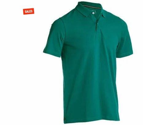 INESIS Mens Golf Polo 500 - Green T Shirt 132c22de4da