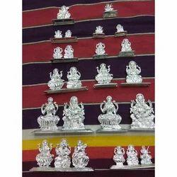 Silver God Statue