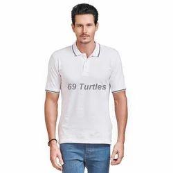 Medium White Casual Men's T Shirt