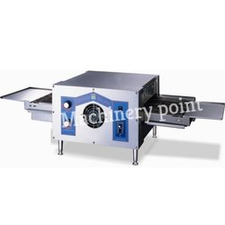 Stainless Steel Electric Commercial Conveyor Pizza Oven, electric Conveyor Oven, Size/Dimension: Medium