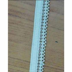Sky Blue Cotton Narrow Fabric, For Garments