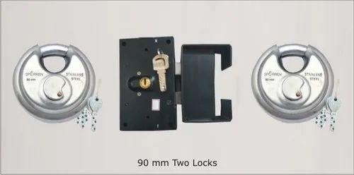 Combo Shutter Lock - Combo Set Shutter Lock Manufacturer from Pune