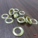 No. 950 Brass Eyelets & Washers Golden